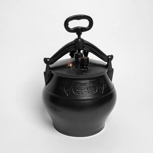 Афганский казан 10 литров черный